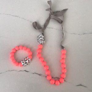 Stella & Dot Kids Bracelet and Necklace Set